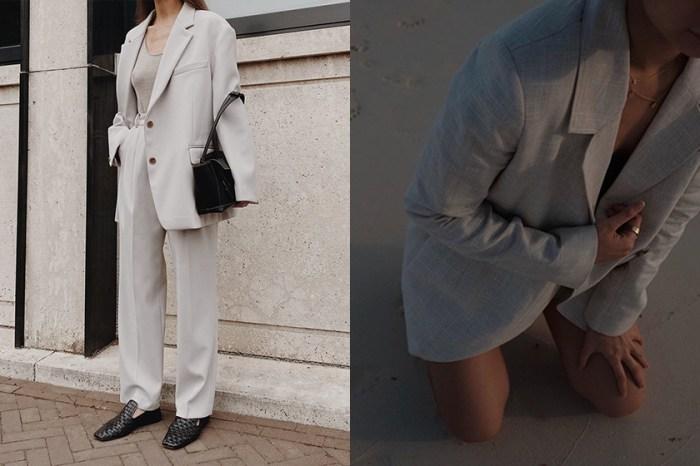 入秋的經典裝束:替你挑選時髦博主的衣櫃中,都必收藏的一件西裝外套!