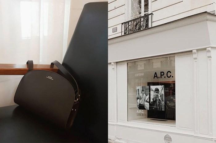 默默被時髦女生愛用:偷偷發現 A.P.C. 極簡手袋現在可以用 5 折價格入手!