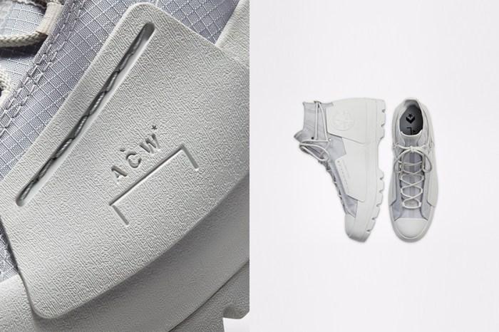 台灣販售消息:低調淡雅的冷灰色,A-COLD-WALL* x Converse 聯名鞋款即將開賣!