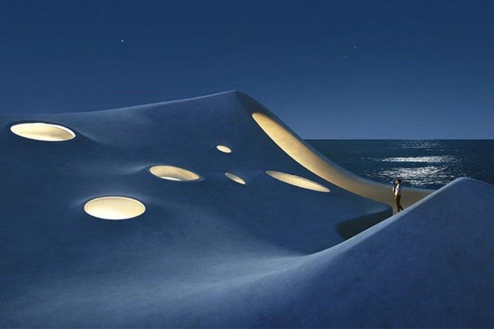 像是帶你穿越時空:漂浮於海濱的這朵白雲,其實藏著一座唯美圖書館!