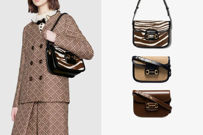 低調質感:受到一眾女明星愛戴的 Gucci 經典手袋,1955 Horsebit 秋冬新色也太迷人!