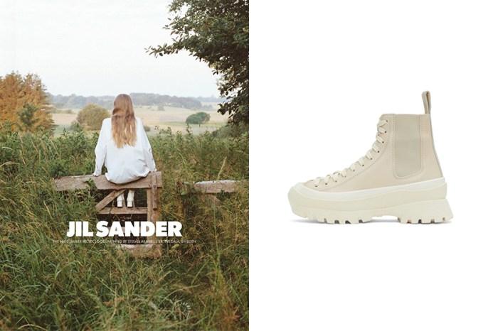 優雅裸色調+增高厚底:Jil Sander 為秋冬帶來兩雙極簡女生不能錯過的鞋履!