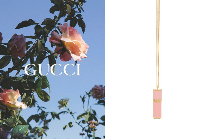 質感加分的隨身小物:Gucci 這款金屬鍊香水瓶讓時髦女生都難以招架!
