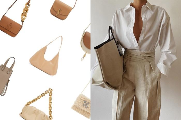 好搭配的溫柔質感:為你推薦 10+ 屬於秋冬的奶茶色手袋!