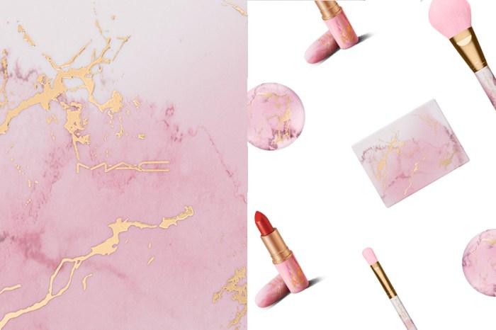 剛剛推出就秒殺售罄:M.A.C 粉彩色大理石彩妝系列,終於再次登場!