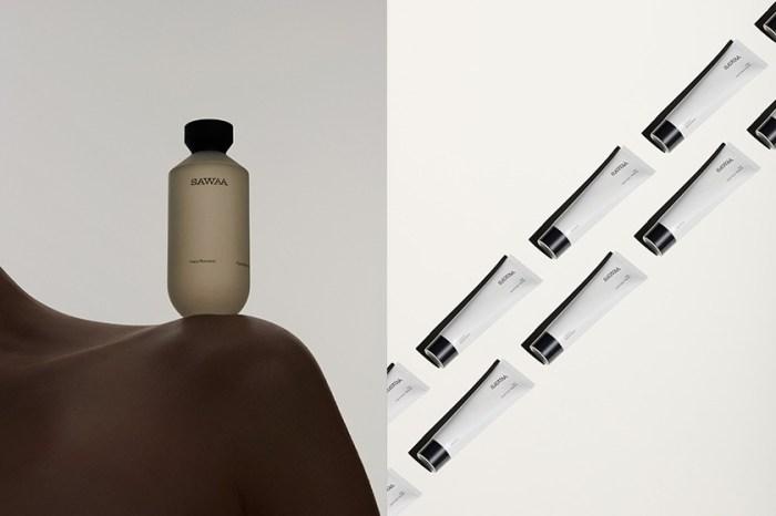 褪去華麗繁複,只留下純淨原料與極簡設計,新生品牌 SAWAA 如藝術般的保養美學!