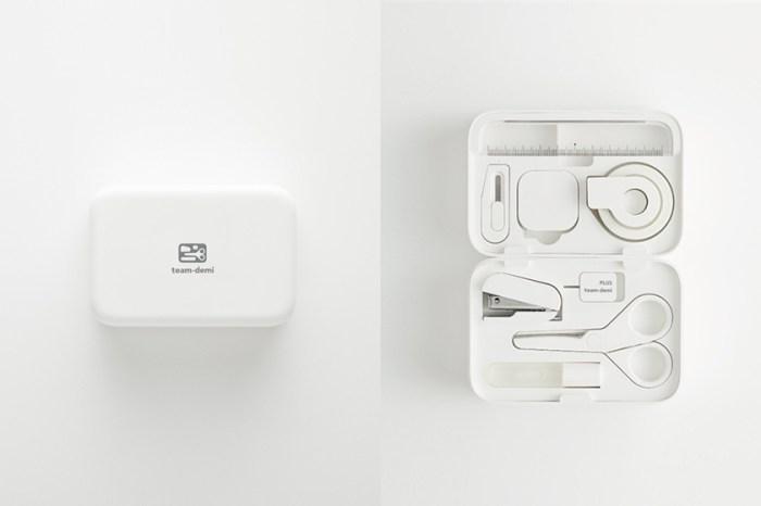 引起日本女生熱烈歡迎:這款極簡文具組重新復刻,日常所需都收在一個小白盒中!