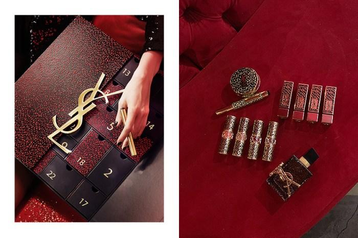 倒數月曆搶先公開!YSL Beauty 聖誕彩妝中,藏了 Saint Laurent 設計的第一隻經典紅唇!