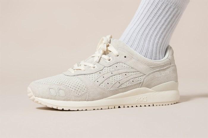 一直穿到秋冬的極簡奶油白:ASICS 為經典鞋型 GEL-Lyte III OG 帶來溫柔配色!