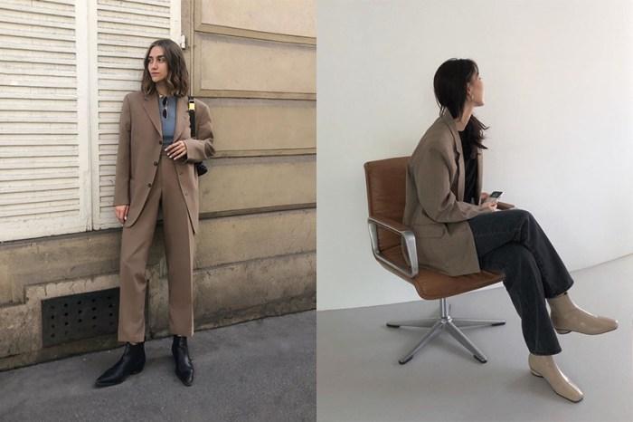 尋覓一雙秋冬的足上亮點:不僅簡約又好搭配,日韓女生都在搜尋這款靴子!