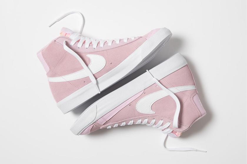 Nike Blazer Mid 77 Vintage Pink Color