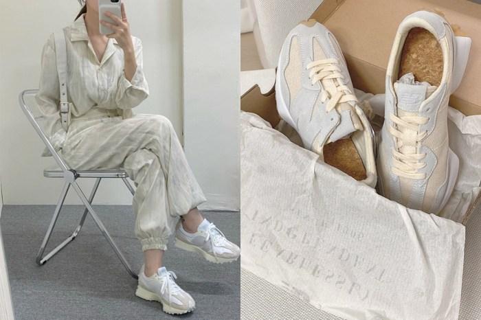 擄走韓國女生的心:延續一樣的低飽和,New Balance 替 327 添了新的粉藕色!