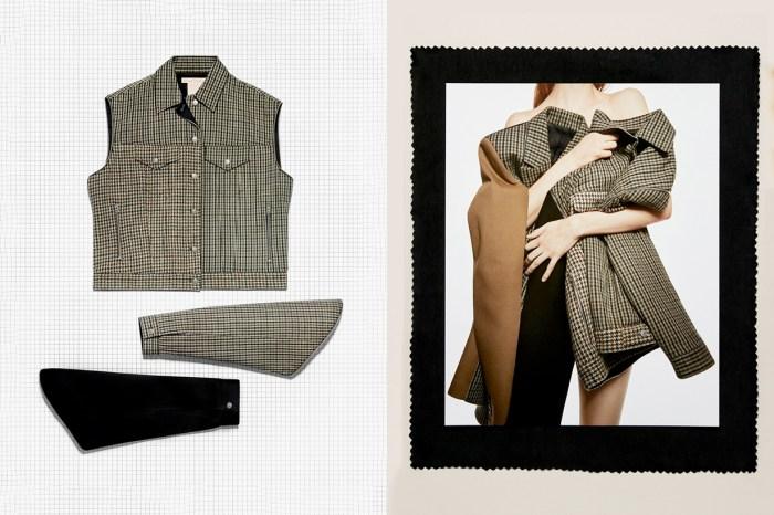 Acne Studios 最新夾克推出「可拆式衣袖」,被稱是最高性價比的系列!