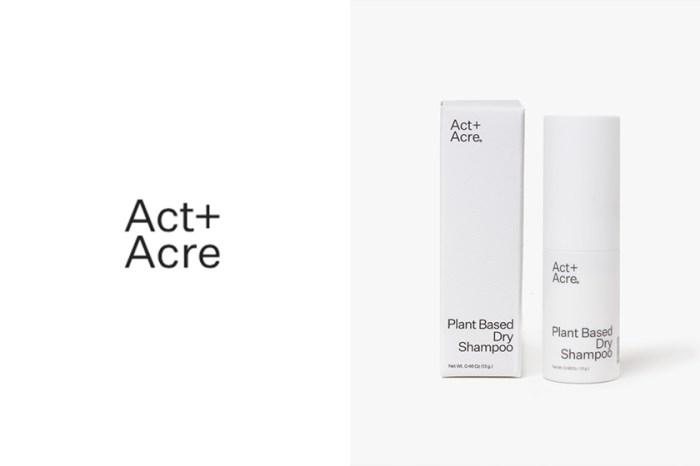 運動後讓頭髮回復乾爽的方案:Act + Acre 這枝全植物性乾洗髮,多用也不怕頭皮出異狀!