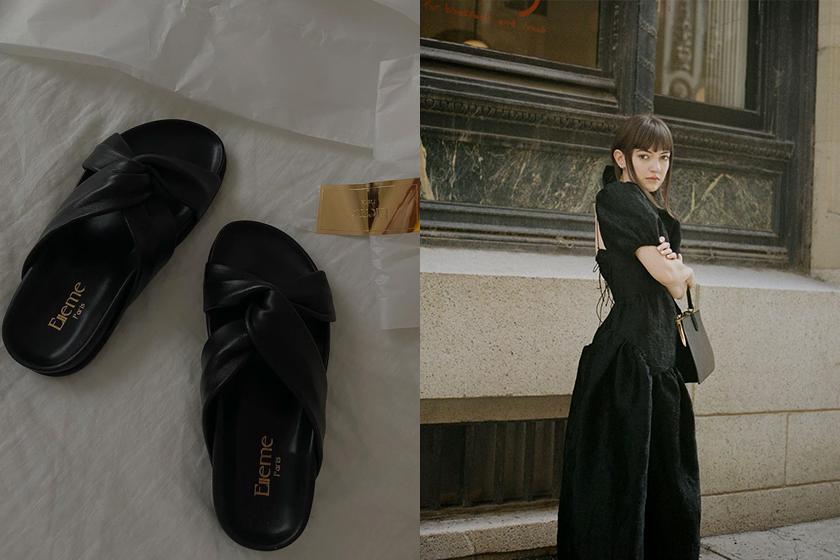 Elleme Knotted Slide Sandals shoes 2020