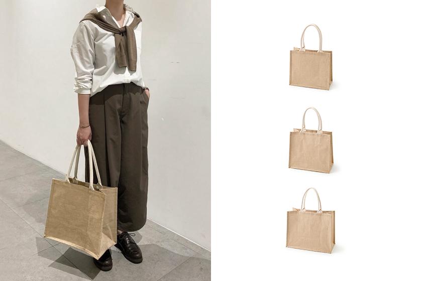 Muji jute shopping bag tote bag taiwan release