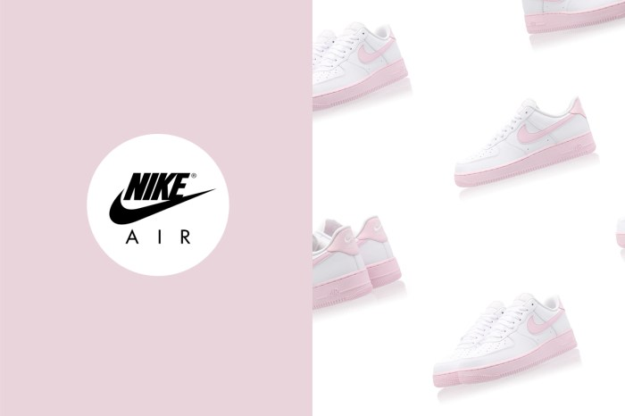 每個配色都可遇不可求,這雙 Nike Air Force 1 的粉色波鞋又怎能不讓人心動?