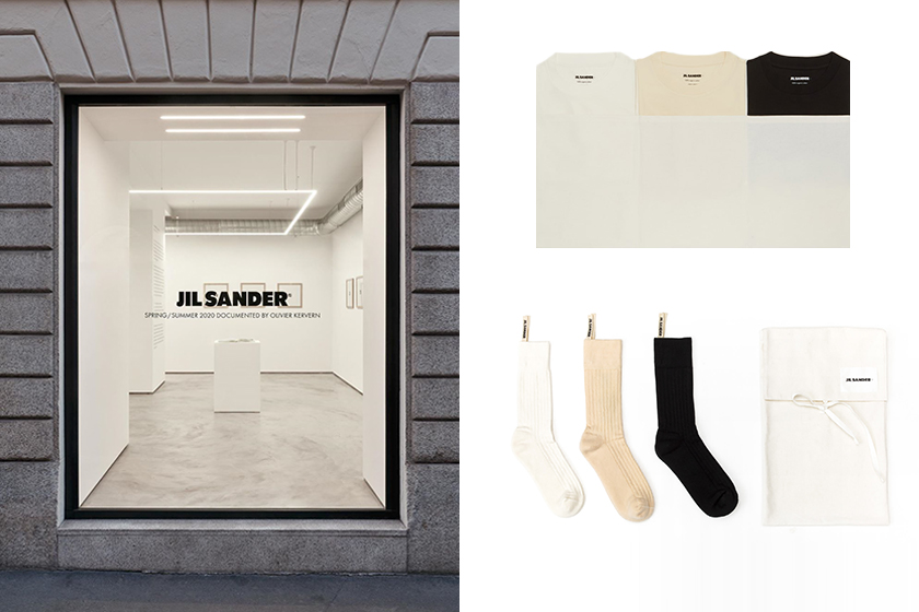 jil sander+ pop up store japan