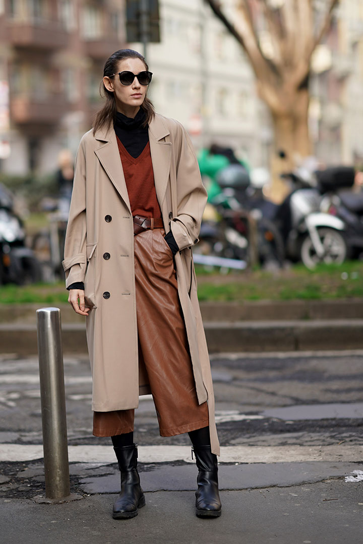 2020 Fall Winter Brown Color Trend