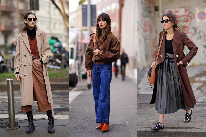 告別深沉的全黑穿搭吧!今季的街頭女生,都是用它穿出知性復古的時尚感