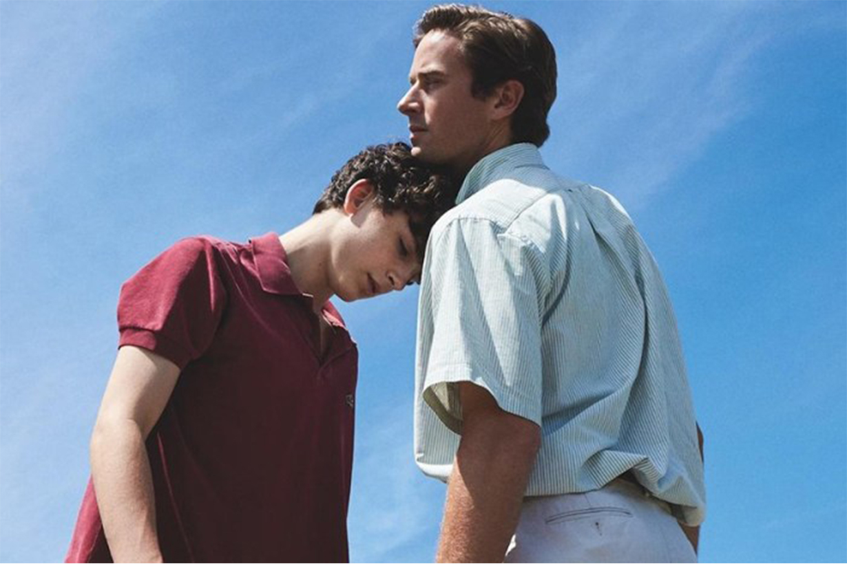 Call Me by Your Name Director rejects criticism of him casting straight actors Timothée Chalamet and Armie Hammer