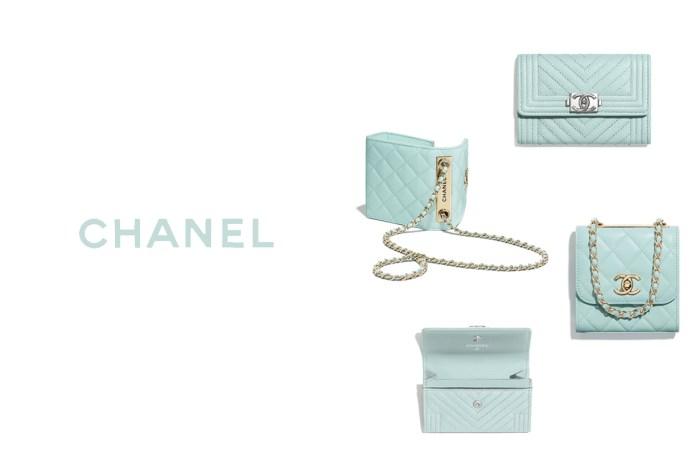 Chanel 為配件塗上一抹淡淡青瓷色,不挑季節又能低調引起注目的配色才迷人!