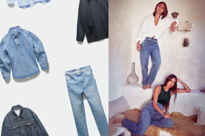 直筒的版型+寬鬆的中腰,原來 ZARA 就藏了一件最完美的 Boyish Jeans!