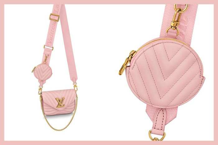 Louis Vuitton 誰能抗拒?超人氣 New Wave 四合一包絕美玫瑰色!