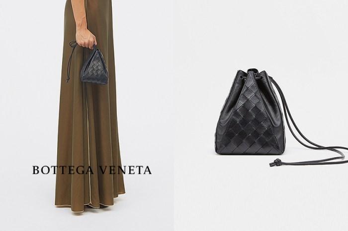 正在找好入手的 Bottega Veneta,就屬這款迷你編織抽繩包!