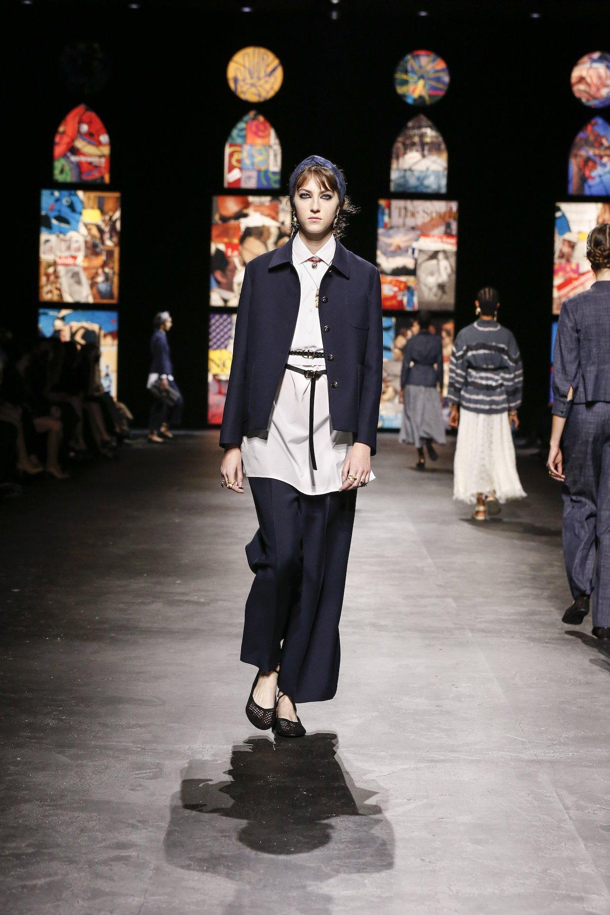 dior 2021 ss paris new silhouette bar jacket