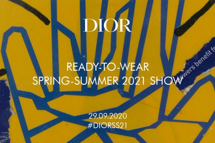 將拼貼藝術帶到天橋?Dior 2021 春夏大秀直播:一同欣賞新季單品的誕生!