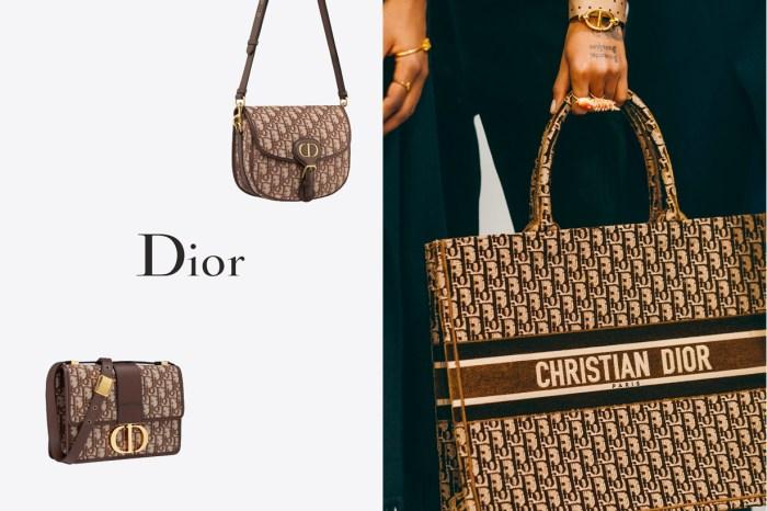 已經售罄:Dior 為 Oblique 推出極美新色,寫著秋季的一抹棕紅已正中紅心!