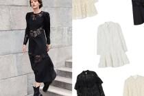 復古秋日:H&M 復古蕾絲洋裝尚未上架,卻因太過優雅引熱議!