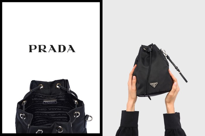 一上架即售罄,Prada 尼龍化妝包不用 $4,000 港幣!