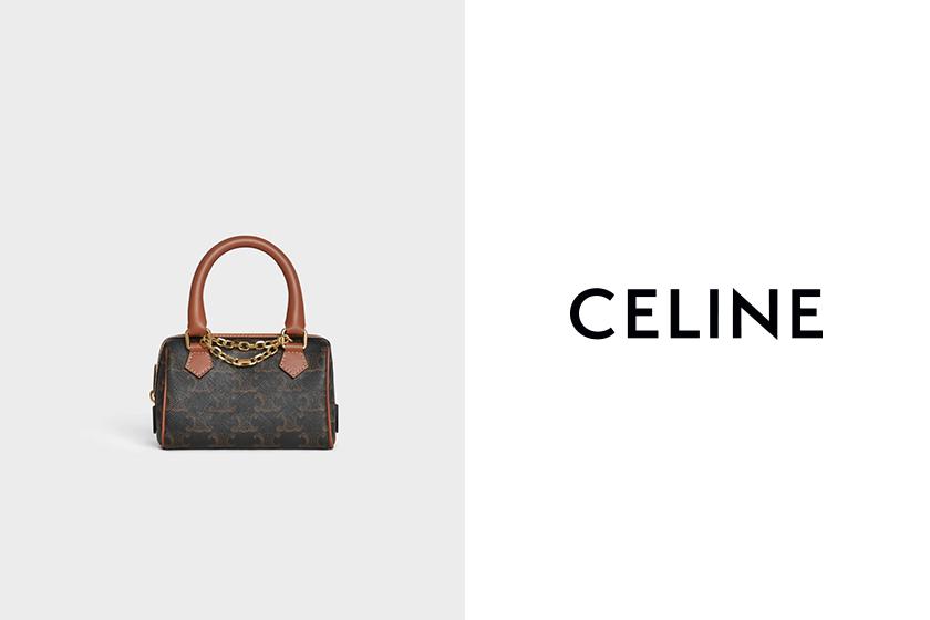 celine Triomphe Canvas mini bag 2020