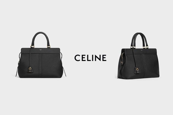 摩登設計+大空間:Celine 全新手袋被稱為上班族美包!