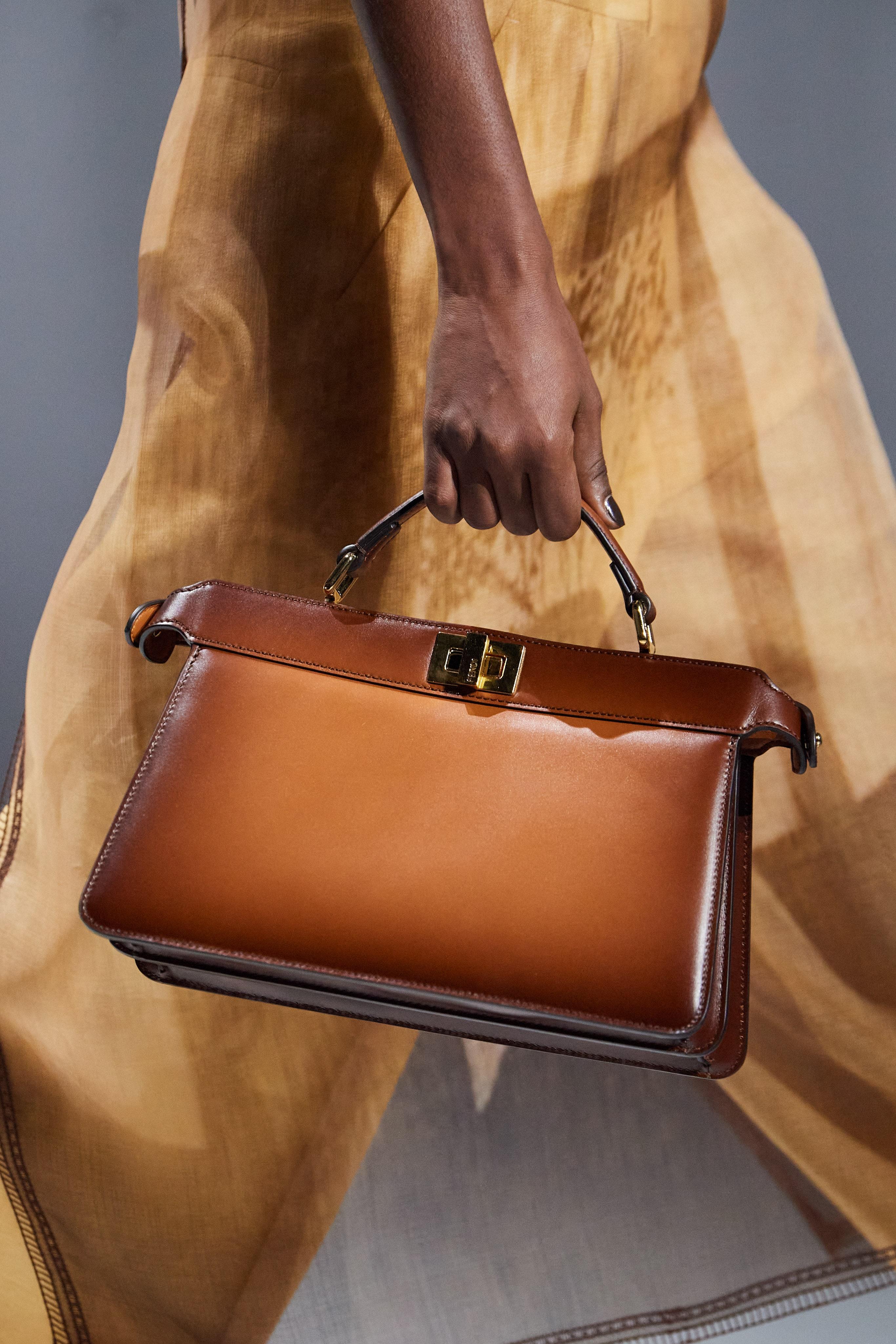 Fendi 2021ss Milan fashion week handbags accessories collection Silvia Venturini Fendi