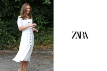 Zara 這條 $ 12 美元復古印花洋裝,被凱特王妃穿上後瞬間秒售罄!