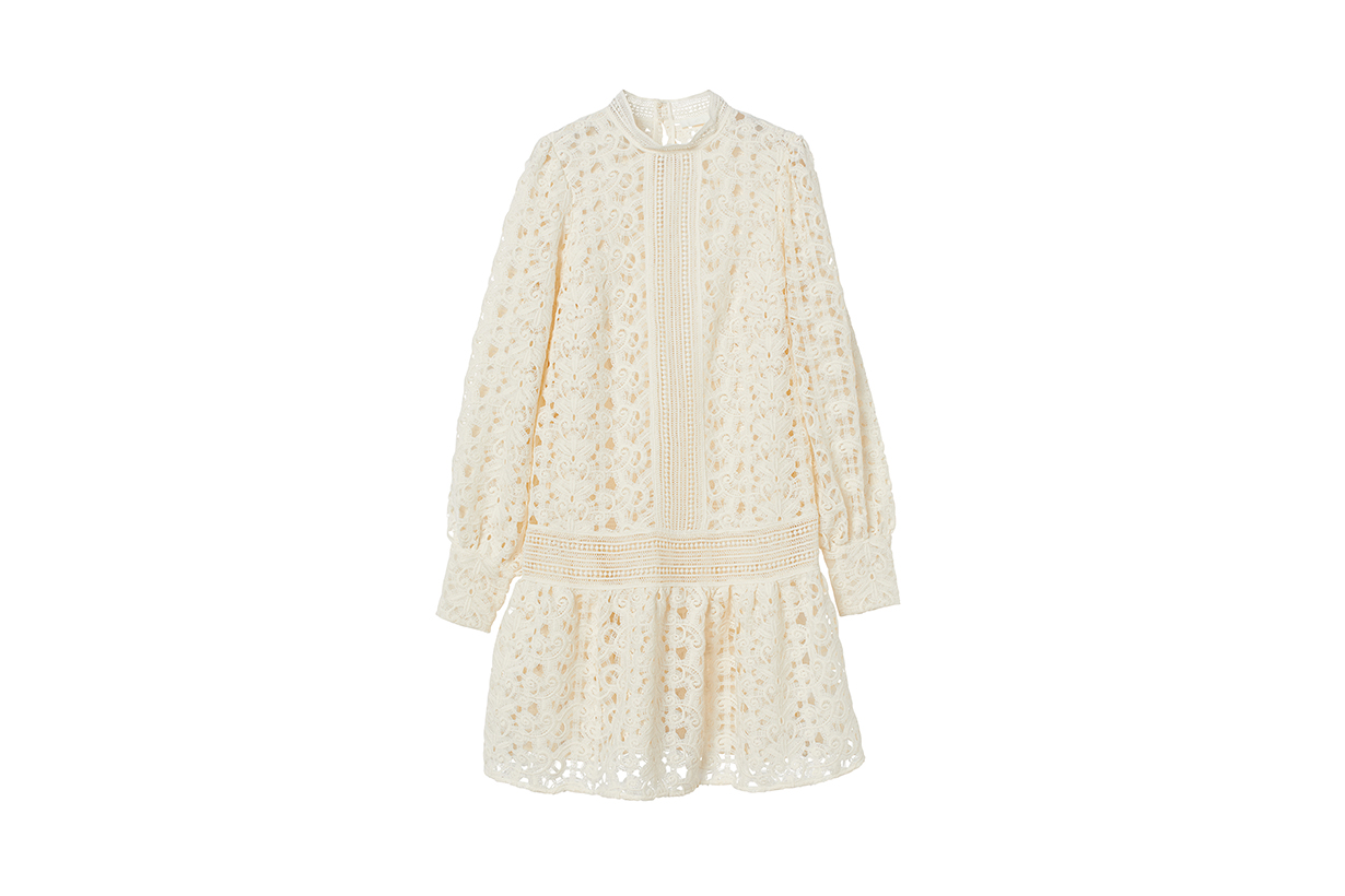 H&M Fall 2020 fashion collection lace dresses