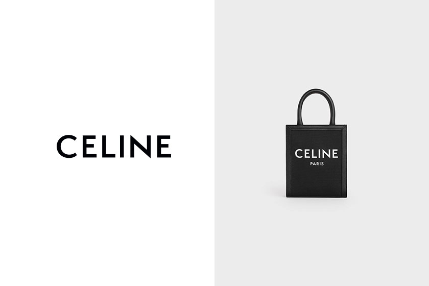 celine mini vertical cabas black handbags 2020