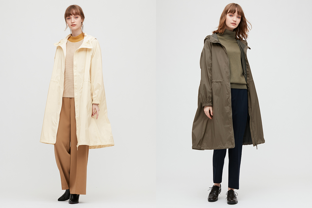 Uniqlo functional outer Taiwanese collection 2020 fw