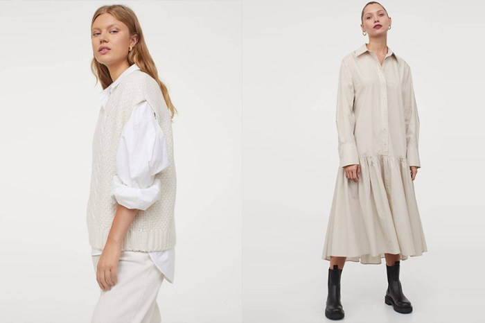 高級設計感:打開 H&M 秋冬新品,時髦博主推介必買單品!