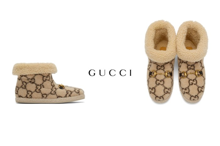 塵封的雪靴要回歸了?Gucci 這雙超高調版本,被評為是最挑戰穿搭功力的鞋款!