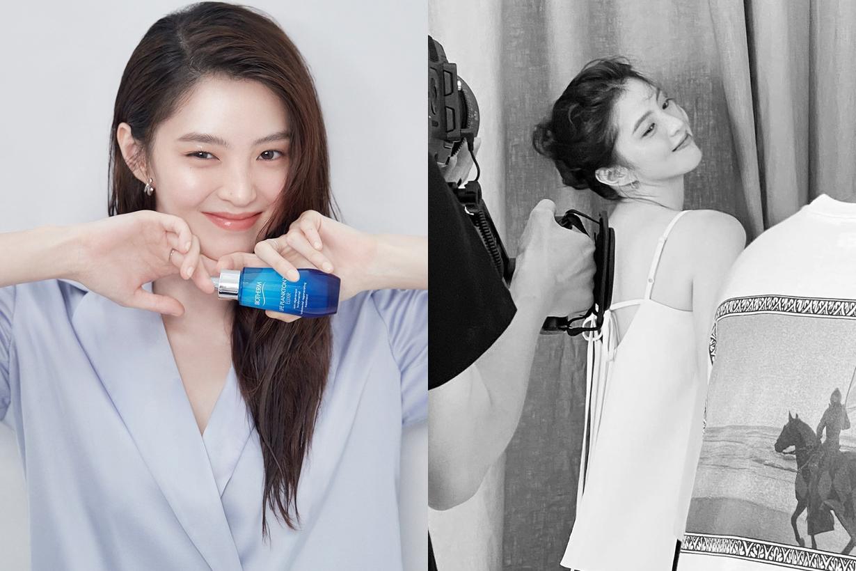 Han So Hee Advertorial Brand Endorsement Biotherm Lanvin Loreal Paris Korean idols celebrities actresses