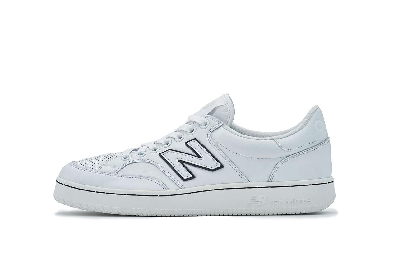 comme des garcons homme new balance pro court cup sneaker fw20