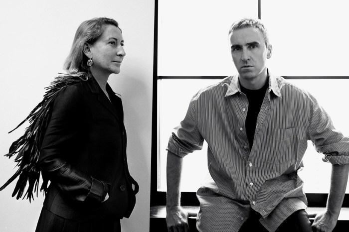 Prada 最強陣容:Miuccia Prada 和Raf Simons 在首場合作大秀前,先拋出一個驚喜!