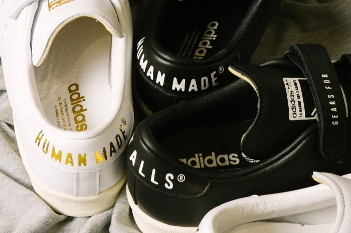 每個細節都值得仔細品味:adidas Originals 再次聯手 HUMAN MADE 推出聯名鞋款!