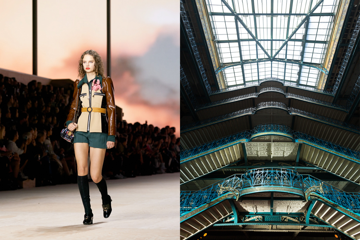 louis vuitton La Samaritaine PFW 2021 SS open LVMH