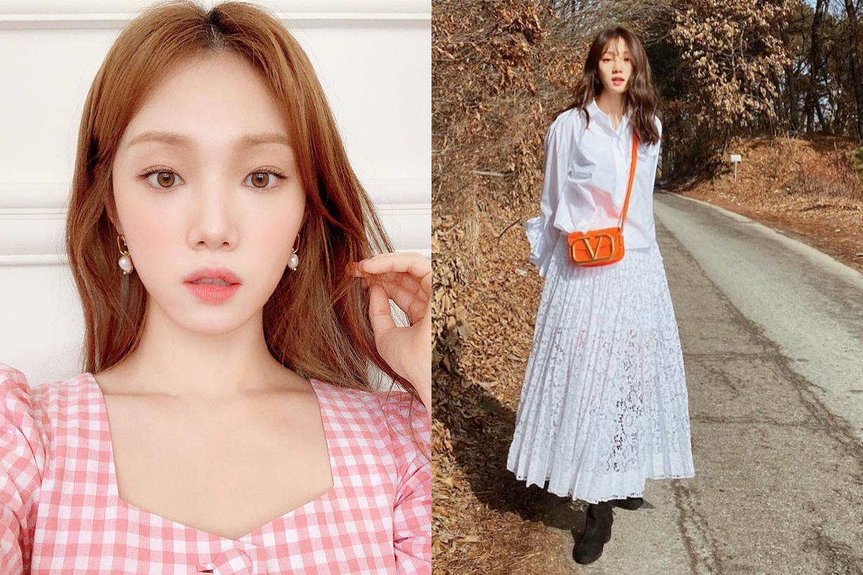 Lee Sung Kyung Biblee Short Bang Baby Bang Celebrities Hairstyles Korean idols celebrities actresses