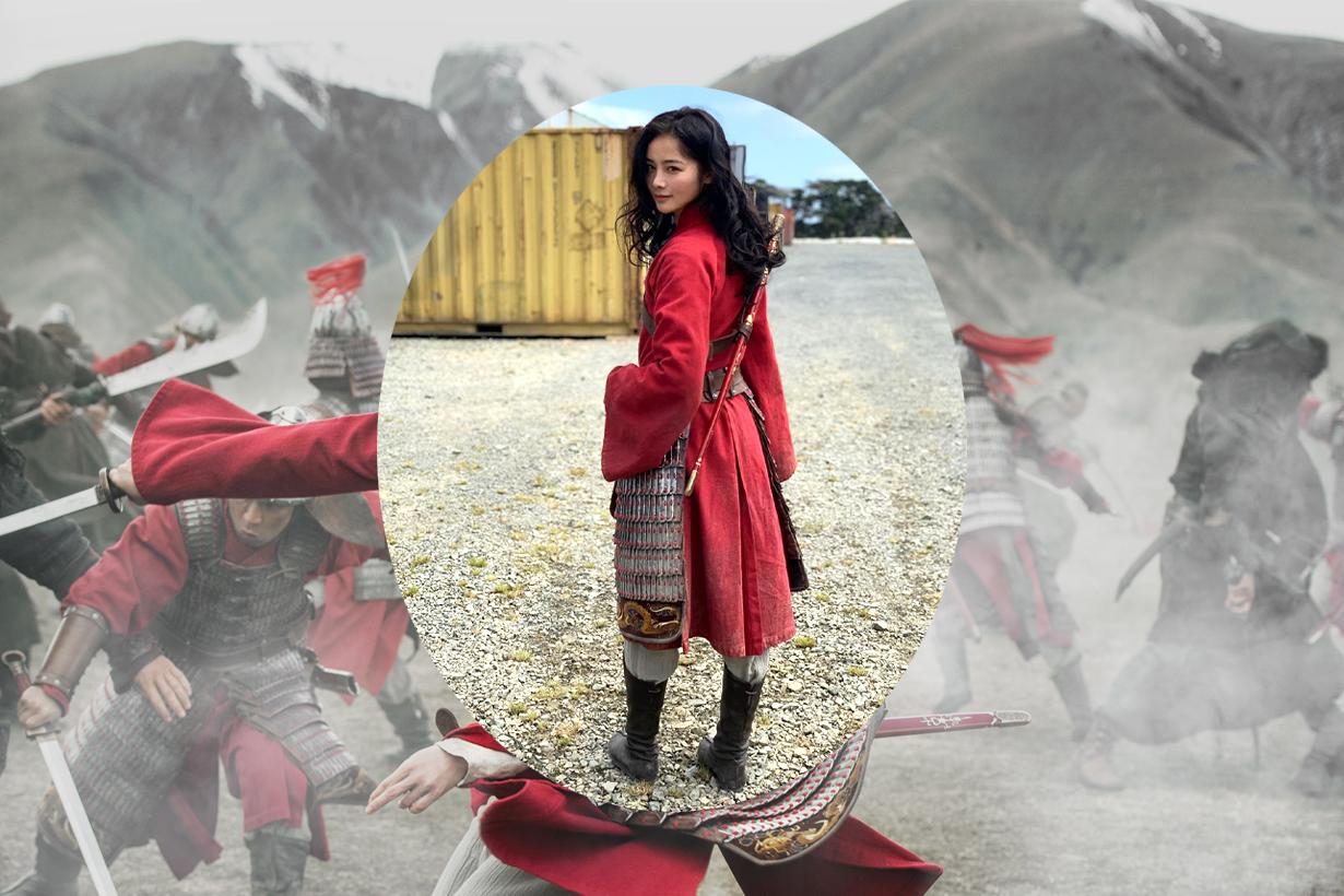 Mulan Movie 2020 Disney Live Action Movies Liu Yifei Liu Yaxi Stunt Double Chinese Actresses celebrities